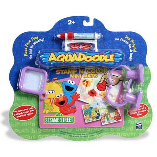 Buy Aquadoodle Stamp 'N Doodle Sesame Street Mini Mat