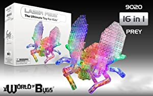 Laser Pegs 16-in-1 Prey Building Set