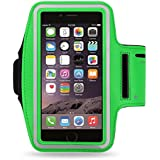 "Reiko Armband Case for Universal 5.5"" Devices - Retail Packaging - Green"