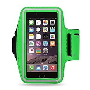 Reiko Sport Armband For Universal 5.5Inch Devices Green