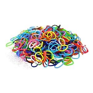 1800 élastiques et s-attaches multicolores en latex Twistz Bandz