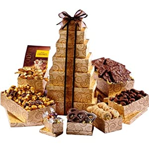 Broadway Basketeers Happy Birthday Festive Gift Tower