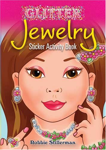 Dover Publications-Glitter Jewelry Sticker Activity Bk - 1