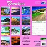 2014 Beaches Calendar 12x12 Wall Calendar made fromenvironment friendly FSC certified paper