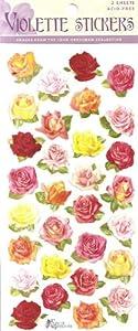 Violette Stickers Mini Roses