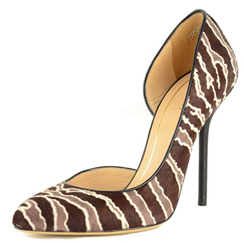 Gucci Shoes Noah Animal Print Pony Hair and Leather dOrsay Pumps