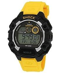 Timex Shock Digital Grey Dial Mens Watch - T49974