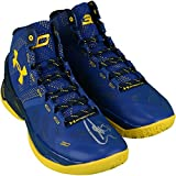 Stephen Curry Golden State Warriors Autographed Curry 2 Cobalt Blue and Yellow Shoes - Fanatics Authentic Certified
