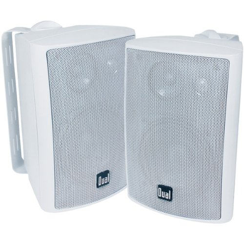 "Dual Lu43Pw 4"", 3-Way Indoor/Outdoor Speakers"