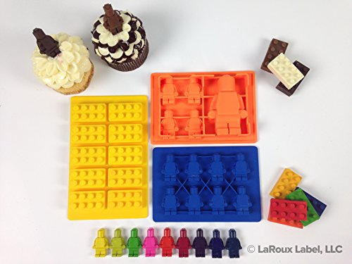 Silicone Mold for LEGO lovers + FREE BONUS TIPS & RECIPES E-BOOK!