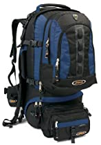 Asolo Navigator 80 Large Travel Pack (Blue/Black, Large)