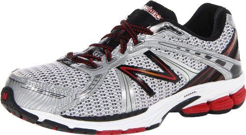 New Balance Men'S M780V3 Running Shoe,White/Red,10.5 D Us front-906696