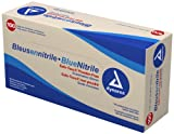 Dynarex Nitrile Exam Glove (non-latex) Powder Free - Large, 100 Count (Pack of 10)