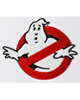 High Quality GHOSTBUSTERS Logo Iron / Sew On Embroidered Patch from ChewyBuy Art & Craft