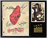 """Harry Potter The Sorcerers Stone Limited Edition Reproduction Movie Script Cinema Display """"C3"""""""
