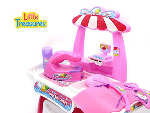 Toys For Girls Age 17 : Dry cleaners play set pieces cleaning toy for