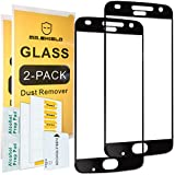 [2-PACK]-Mr Shield For Motorola MOTO Z2 Play [Cut Out for Logo Version] [Japan Tempered Glass] [9H Hardness] [Full Screen Glue Cover] Screen Protector with Lifetime Replacement Warranty