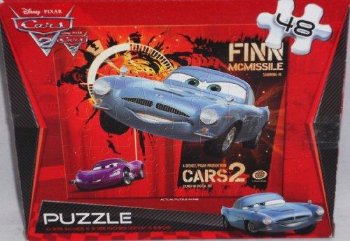Disney Pixar Cars 2 Puzzle 48Ct Finn McMissile - 1