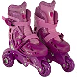 Bravo Sports Disney Princess Junior Sparkle Convertible 2-in-1 Skate, Size 6-9