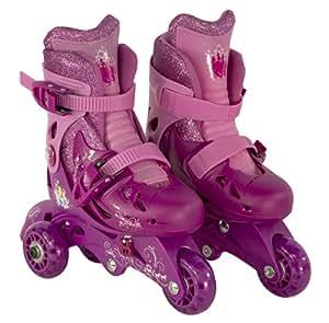 Princess Junior Sparkle Convertible 2-in-1 Skate, Size 6-9