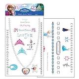 Disney Frozen Metallic Jewelry Temporary Tattoos - 2 Sheets