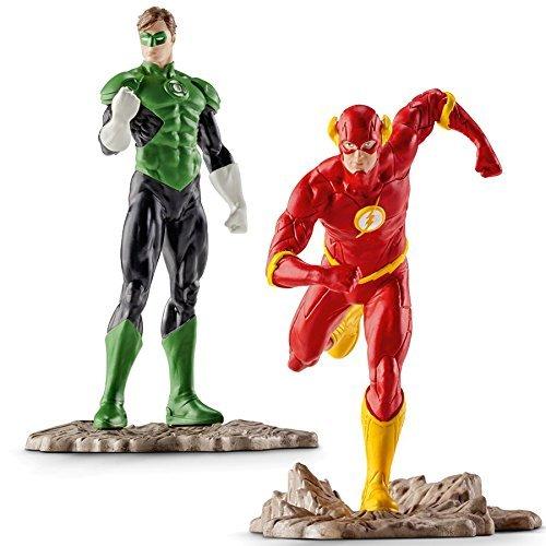 Schleich Flash and Green Lantern - 2 Figures Set - 22508 22507 by Schleich