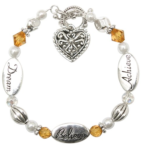 Dream, Believe, Achieve - Expressively Yours Bracelet