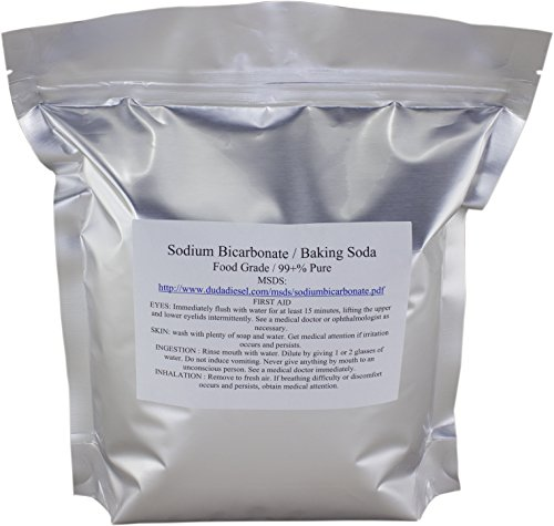 Duda Energy sbc1f USP Pure Sodium Bicarbonate Powder Highest Quality Organic Food Grade ORMI Listed Pure Baking Soda, 1 lb. (Bicarbonate Of Soda For Cleaning compare prices)