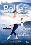 Ballet Workout For Legs, Bums & Tums - Joey Bull - Fit for Life Series [DVD]