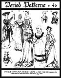 Woman's German Puff-and-slash Renaissance Pattern