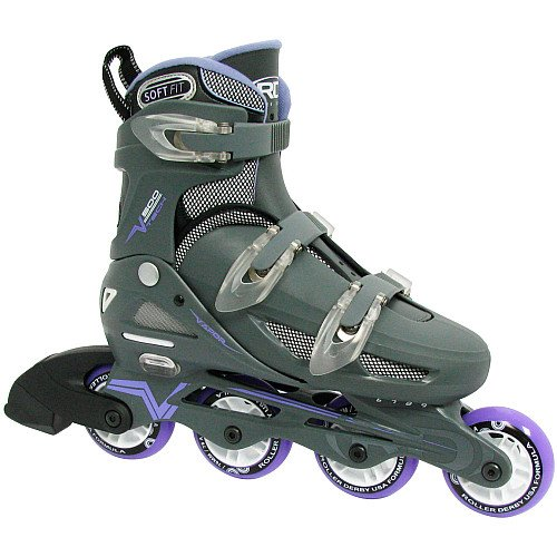 Roller Derby Women's Adjustable Inline Skate, Large