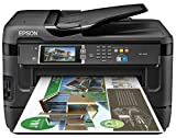 Epson WorkForce WF-7620 Wireless and WiFi Direct, All-in-One Wide-Format Color Inkjet Printer, Copier, Scanner, 2-Sided Auto Duplex, ADF, Fax. Prints from Tablet/Smartphone. AirPrint Compatible. (C11CC97201)