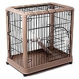 Favorite 2-Tier Luxury Cat Metal Crate Cage, 2 Doors, 34