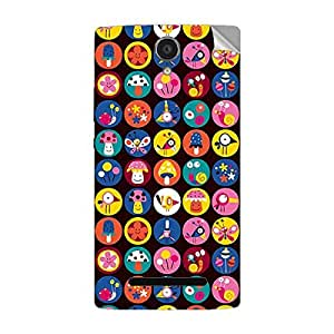 Garmor Designer Mobile Skin Sticker For OPPO R833T - Mobile Sticker