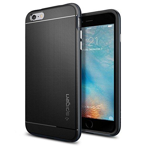 Spigen iPhone6s Plus ケース / iPhone6 Plus ケース, ネオ・ハイブリッド [ 米軍MIL規格取得 二重構造 スリム フィット ] アイフォン6s プラス / 6 プラス 用 カバー (メタル・スレート SGP11664)