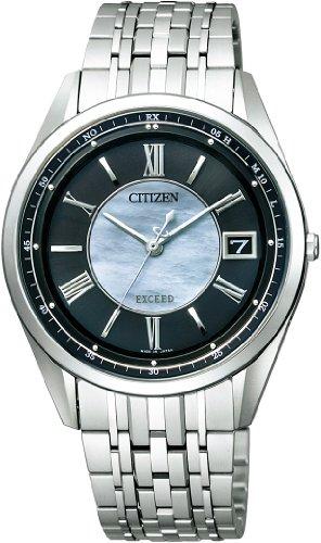 [シチズン]CITIZEN 腕時計 EXCEED エクシード Eco-Drive エコ・ドライブ 電波時計 チタン薄型 AS7080-54E メンズ