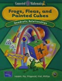 img - for Frogs, Fleas, and Painted Cubes: Quadratic Relationships, Grade 8 (Connected Mathematics 2 Series) book / textbook / text book