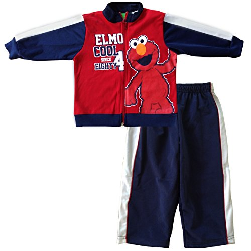 "Sesame Street Elmo ""American Original"" 2Pc Short Set - 2T front-990214"