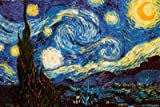 Starry Night, c. 1889 Poster Print by Vincent van Gogh, 36x24 Fine Art Poster Print by Vincent van Gogh, 36x24