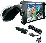 Garmin 3D-Streetpilot Navigation (KFZ-Ladekabel, USB) für Apple iPhone 4/4S inkl. Carkit und Auto-Halterung