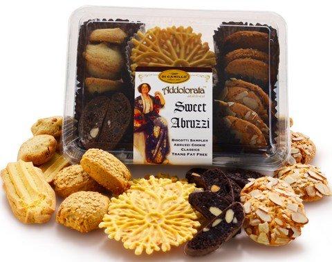 Sweet Abruzzi Biscotti and Italian Cookie Sampler