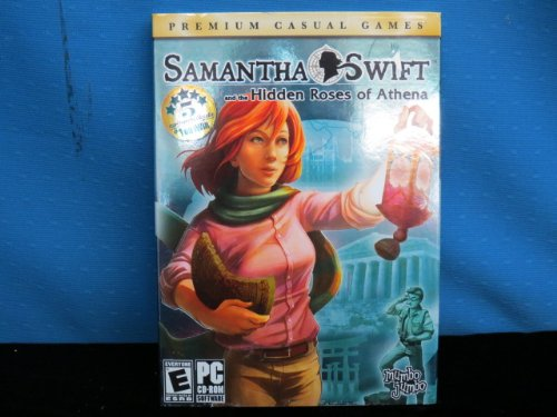 Samantha Swift and the Hidden Roses of Athena with 2 Bonus Games Free (Jewel Quest & Mahjong Quest)