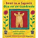 Bear in a Square/Oso en un Cuadrado (Spanish Edition) (Fun First Steps)