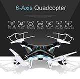 QCopter-QC1-Drone-Quadcopter-with-HD-Camera-LED-Lights-Black-Drones-BONUS-BATTERY-2X-FlightTime