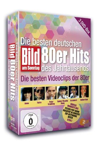 Various Artists - BamS: Die besten deutsch 80er Hits des Jahrtausends [3 DVDs]