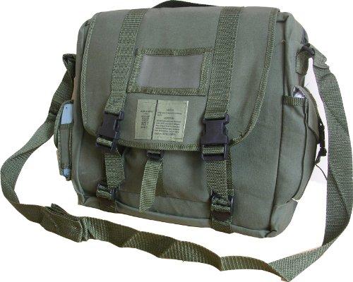 Zip Zap Zooom Mens Army Retro Combat Cargo Canvas Travel Shoulder Bag Messenger A4 Satchel surplus