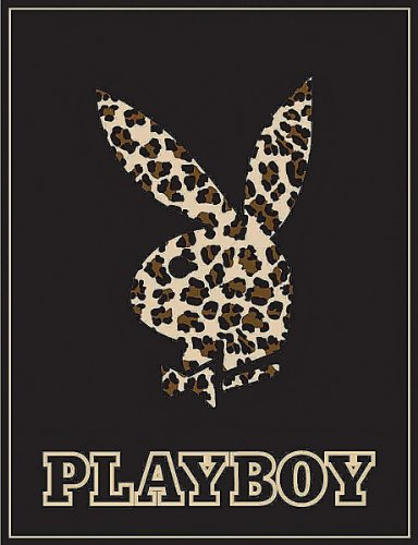 playboy-bunny-leopard-high-pile-thick-fleece-throw-blanket-50-x-60-genuine-licensed