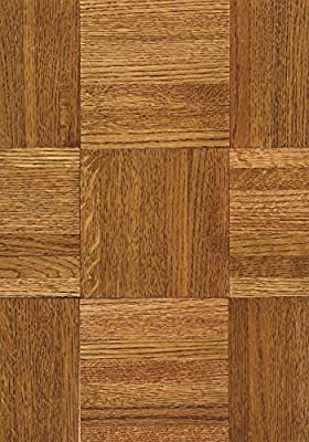 Armstrong Urethane Parquet Wood Backing Contractor/Builder Solid Oak Hardwood Flooring