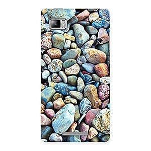 Water Pebbels Multicolor Back Case Cover for Lenovo Vibe Z K910