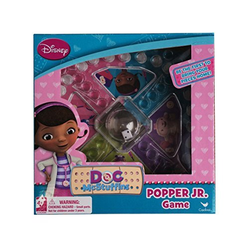 Disney Doc McStuffins Popper Jr. Board Game for Children
